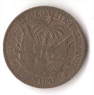 HAITI  1 CENTIME   1881 - Haïti