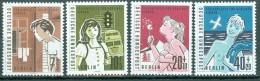 BERLIN - Komplettsatz Mi-Nr. 193 - 196 Hilfswerk Postfrisch - Ungebraucht