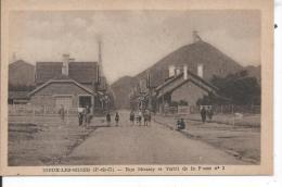 NOEUX LES MINES - Rue Moussy Et Terril De La Fosse N° 3 - Noeux Les Mines