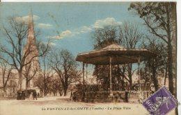 FONTENAY-LE-COMTE  -  LA PLACE VIÉTE - Fontenay Le Comte