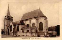 27 - BOURGTHEROULDE - Vieux  Camion Berliez  Devant L'église - Bourgtheroulde