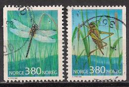 Norwegen  (1998)  Mi.Nr. 1275 + 1276  Gest. / Used  (cc173) - Gebraucht