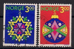 Norwegen  (1989)  Mi.Nr. 1035 + 1036  Gest. / Used  (cc171) - Norwegen