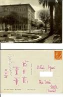 Carrara (Massa Carrara): Palazzo Della Cassa Di Risparmio. Cartolina B/n Viaggiata 1955 - Carrara