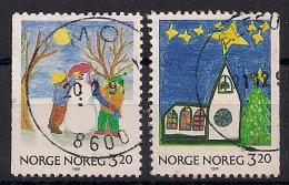 Norwegen  (1990)  Mi.Nr. 1057 + 1058  Gest. / Used  (cc170) - Norwegen
