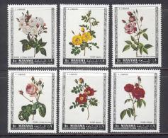 Manama 1969 Flowers MNH (T1829) - Manama