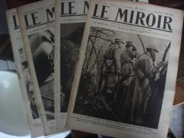 LE MIROIR  (Publication Hébdomadaire) 1916 - 1914-18