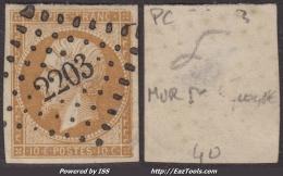 *PROMO* PC 2203 (Mur-de-Sologne, Loir-et-Cher (40)), Cote 56€ - Storia Postale (Francobolli Sciolti)