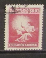Perù 1950 Tax 3c Educacion Nacional Education - Peru