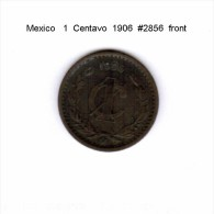MEXICO    1  CENTAVO  1906  (KM # 415) - Mexico