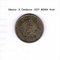 MEXICO    5  CENTAVOS  1937  (KM # 423) - Mexico