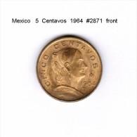 MEXICO    5  CENTAVOS  1964  (KM # 426) - Messico