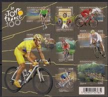 2013 France  Frankreich Mi. 5596-5603 **MNH  100e Edtion Du Tour De France - Blocs & Feuillets