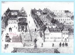 BUND BRD FRG GERMANY - MK MC Maximum Card 02-1995 FDC --- 1773 Wormser Reichstag    (9728) - BRD