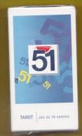 PASTIS  51 Alcool Publicité Vintage Cartes à Jouer  Tarot - Tarot-Karten
