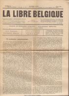 LA LIBRE BELGIQUE - Journal Clandestin - Numéro 86 - Août 1916 - En Parfait état Plié En 4 - Old Paper
