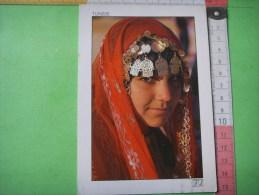 32 ) Tunisie :  Mona Lisa Du Sud : Scans Recto Verso - Túnez