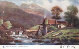 F.W. Hayes - Beddgelert Mill In North Wales  -  1444 - Tuck, Raphael