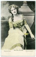 NINA SEVENING : ACTRESS (BASSANO) / POSTMARK - SQUAE CIRCLE - COLCHESTER 1904 - Entertainers