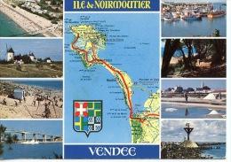 Vendée Ile De Noirmoutier Géographique Multivues - Carte Michelin N° 67 - édit Jack - Ile De Noirmoutier
