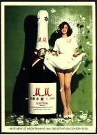 Reklame Werbeanzeige  -  MM Extra Sekt  -  Heute Abend Ist Wieder Frühling  -  Von 1975 - Alkohol