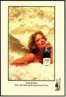 Reklame Werbeanzeige  -  MM Extra Sekt  -  Daran Denken : MM - Der Sekt Mit Dem Gewissen Extra  -  Von 1973 - Alkohol