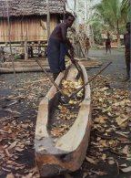 (885) Papua New Guinea - Carving Canoe - Papua-Neuguinea