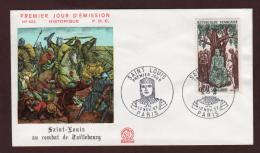 1539  De 1967  - 1er Jour .  PARIS   Le  10-11-67  -  LOUIS  IX  Dit  SAINT LOUIS - 1960-1969