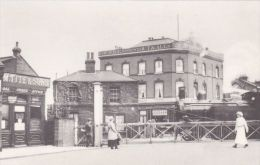 WOODFORD - LEVEL CROSSING, GEORGE LANE . LIBRARY REPRINT - London Suburbs
