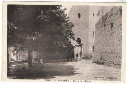 83-BAGNOLS-EN-FORET-PLACE  DE  L'EGLISE  N2170 - Ohne Zuordnung