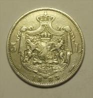 Roumanie Romania Rumänien 5 Lei 1883 Argent / SIlver  # 9 - Rumania
