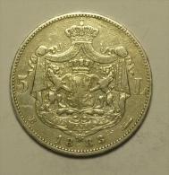 Roumanie Romania Rumänien 5 Lei 1883 Argent / SIlver  # 4 - Rumania
