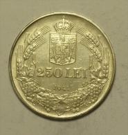 """B Roumanie Romania Rumänien 250 Lei 1941 """""""" TPT """""""" Argent Silver  # 1 HIGH  GRADE - Roumanie"""