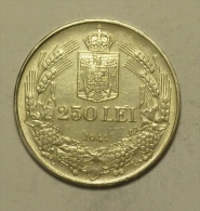 "B Roumanie Romania Rumänien 250 Lei 1941 """" TPT """" Argent Silver  # 1 HIGH  GRADE - Romania"