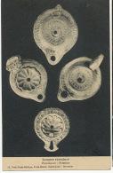 Palestine Lampes Romaines Musée Biblique Sainte Anne Jerusalem Peres Blancs Poteries Archeologie - Palestine
