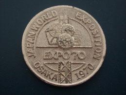 Medal Japan World - Expo 1970 - Osaka - Jetons & Médailles
