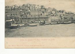 Palestine Turkey Back The Channel At  Jaffa Edit Tarazi Beyrouth  2098 Et 297 - Palestine