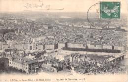 69 LYON SAINT CLAIR ET LE HAUT RHONE VUE PRISE DE FOURVIERE - Lyon