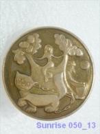 Cartoon Film Soviet: Ruslan And Ludmila A. Pushkin / Old Soviet Badge USSR 250_u3269 - Disney
