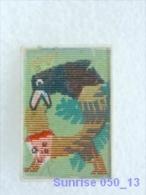 Cartoon Film Soviet: Fox And Crow Ivan Krylov Fable / Old Soviet Badge USSR 250_u3246 - Disney