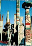 Océanie - Australie - A Group Od Totem Poles Used By The Australian Aborigènes In Arnhem Land - Aborigènes