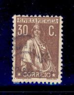 Portugal - 1924 Ceres 30 C - Af. 281 - Used - Usado