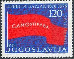 YU 1976-1632 RED FLAG, YUGOSLAVIA, 1v, MNH - Briefmarken
