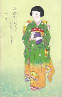 8135 - Jolie Japonaise En Kimono - Tokyo