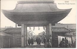 8140 - Kobe Entrée D'un Temple Japonais - Kobe