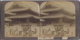 8150 -  Le Plus Grand Temple De Bouddha Au Japon Sud De Kyoto - Photos Stéréoscopiques