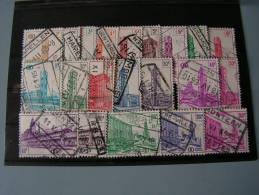 == Belgien   1953-56 Dienst Oder Bahnmarken 300-329   €  7,00 - Bahnwesen