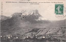 Carte Postale Ancienne De Savoie - Myans - Panorama De Saint André - Le Lac Des Pères - Le Mont Granier - Altri Comuni