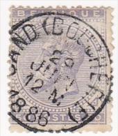 OBP # 41 Gestempeld GAND BOUCHERIE/oblitéré/used - 1883 Leopold II