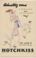 Pub   Hotchkiss Par J. Jacquelin Elegance 168 Bd Ornano St Denis - Publicité